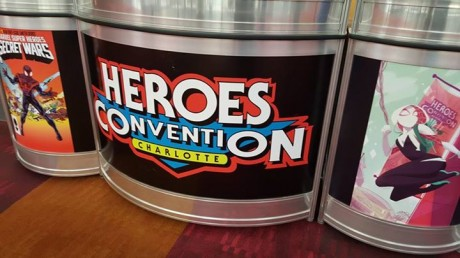 First HeroesCon Appearance: CHECK!